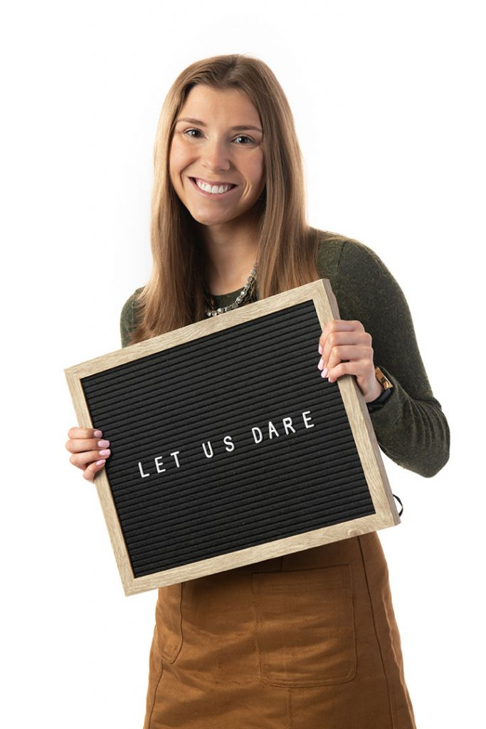 Amanda Nielson, Champlain College grad