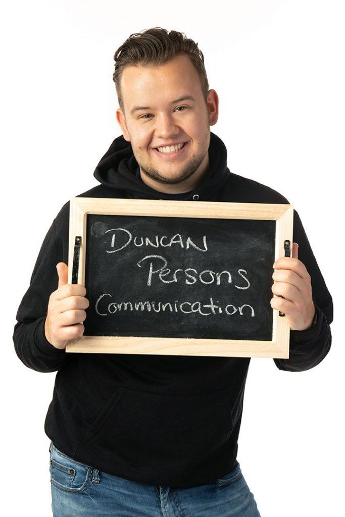 Duncan Persons, Champlain College grad
