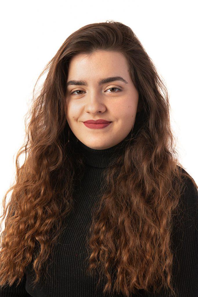 Champlain College student, Emma Santos