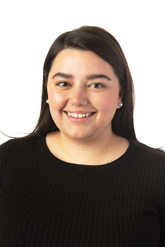 Champlain College student, Mia Andreozzi