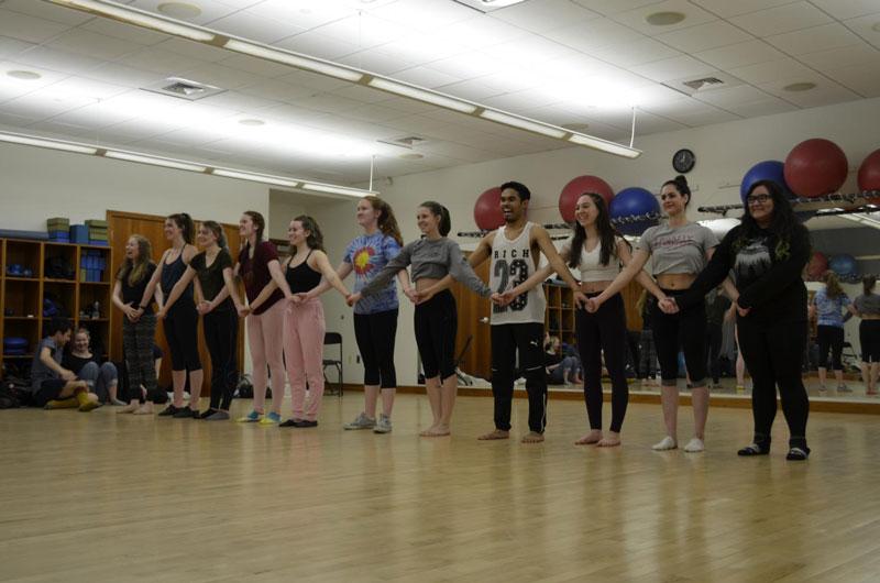 Dance Team Practice