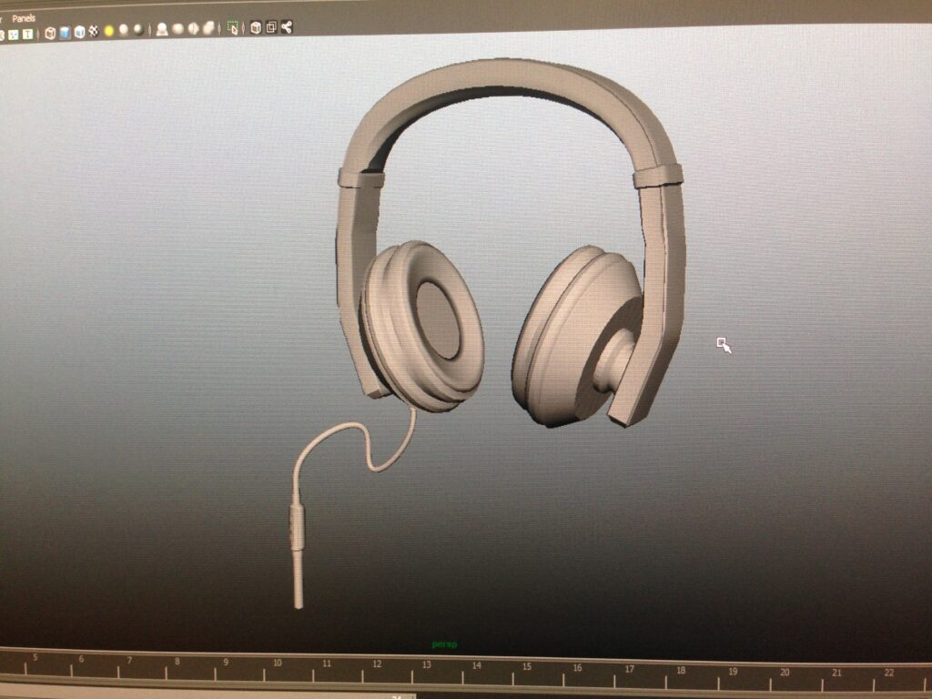 An asset created by Michael in the software Maya during his introductionary time at Champlain.
